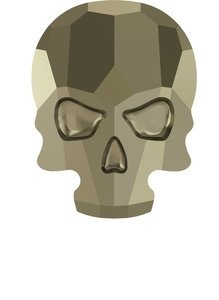 Skull Light Gold