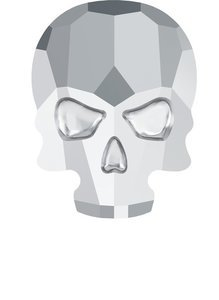 Skull Crystal Light Crome