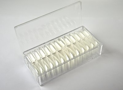 Showtips Coffin Clear 504 stuks  (Press Ons`s)
