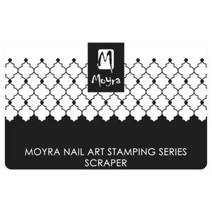 Moyra Scraper 7 Black and White