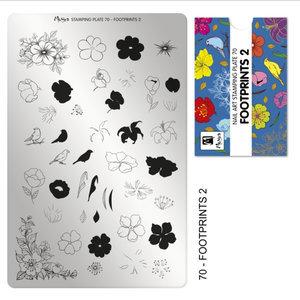 Moyra Stamping Plate 70 Footprints 2