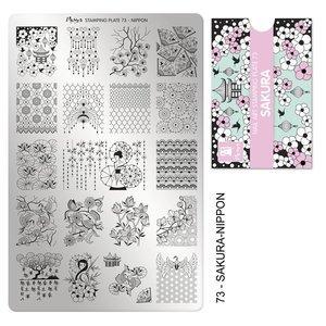 Moyra Stamping Plate 73 Sakura