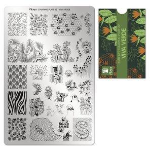 Moyra Stamping Plate 80 Viva Verde