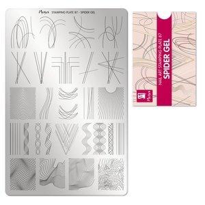Moyra Stamping Plate 87 Spider Gel