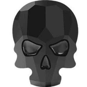 Swarovski Skull Jet
