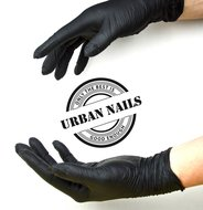 Urban Nails handschoenen Black L Nitril