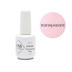 PNS B Bottle Transparant Pink