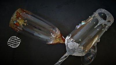Champagne Glas Pimpen (op afspraak)